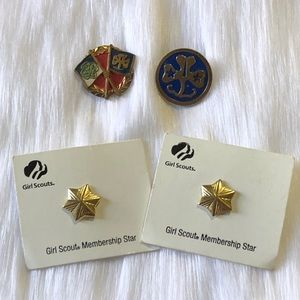 Vintage Girl Scouts Pins